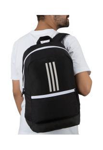 Mochila Adidas Classic Bp 3S - Preto/Branco