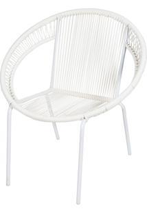 Cadeira Cancun Ordesign Branca - Branco - Dafiti