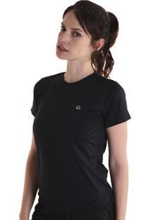 Camiseta Liquido Basic Fit Girls - Preto P