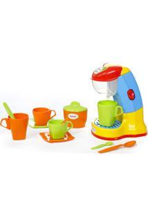 Cafeteira Infantil Expresso Maral 1038 12 Peças Colorida