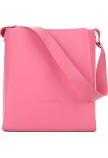 Bolsa Petite Jolie Shopper J-Lastic Boldy Feminina - Feminino-Rosa
