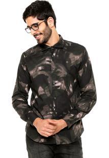 Camisa Forum Camuflada Verde