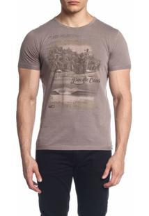 Camiseta Mormaii Pacific Coast - Masculino-Marrom