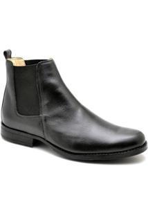 Bota Top Franca Shoes Casual - Masculino-Preto