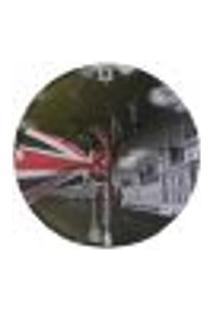 Relógio Em Vinil Bandeira Inglaterra