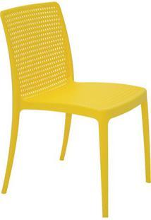 Cadeira Isabelle- Amarela- 83X56X47Cm- Tramontintramontina