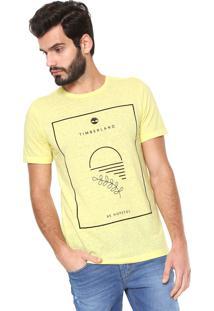 Camiseta Timberland Hopeful Amarela