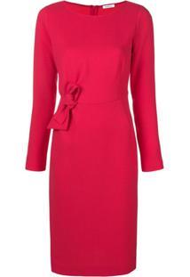 P.A.R.O.S.H. Vestido Com Laço - Rosa