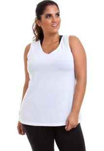 Blusa Regata Fit Plus Feminina - Unissex