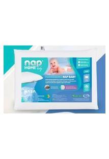 Travesseiro Nasa Baby De Altura Regulável Capa Impermeável Algodão 200 Fios Nap