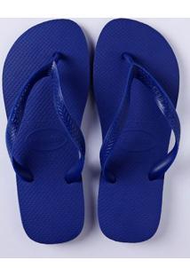 Chinelo Masculino Havaianas Top Azul