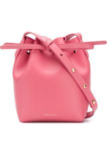 Mansur Gavriel Mini Mini Bucket Bag - Rosa