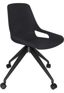 Cadeira De Cozinha Giratória Beau Preta