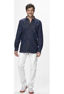 Camisa Jeans Estonada Malwee