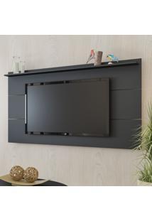 Painel Para Tv Até 50 Polegadas Slim Preto - Artely
