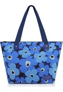 Bolsa Jacki Design Poliéster - Feminino-Azul