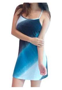 Camisola Costas Nadador Chapiscado Dressy (E11181) 100% Algodão