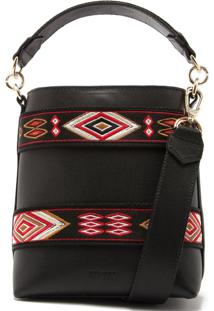 Bucket Bag Ethnic Black | Schutz