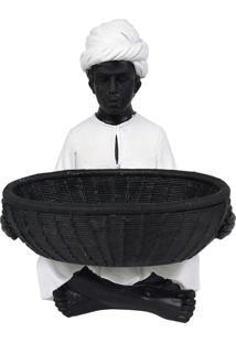 Enfeite Homem Indiano Em Resina