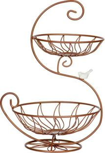 Fruteira Stylus Bronze