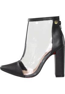 Bota Vinil Week Shoes Preta