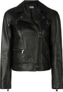 Karl Lagerfeld Biker Jacket - Preto