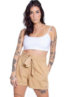 Shorts Clochard Le Julie Caqui