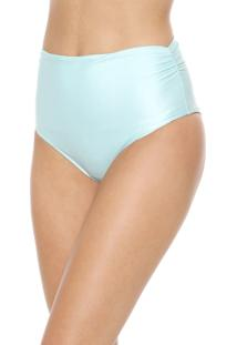 Calcinha Cia.Maritima Hot Pant Liso Azul