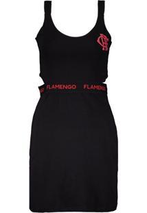 Fut Fanatics. Vestido Flamengo Secret Preto 1667c27fc2624