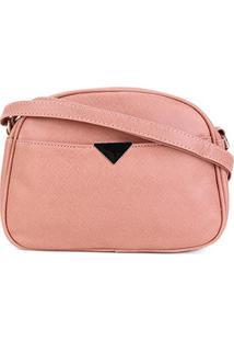 Bolsa Pagani Mini Bag Transversal Feminina - Feminino-Rosa