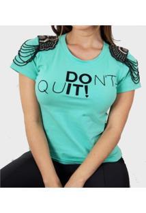 Tshirt Feminina Bordada
