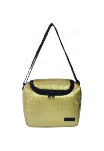 Bolsa Térmica Bag Newland Dourada