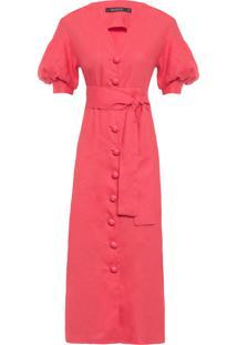 Vestido Midi Serena - Laranja