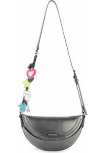 Balenciaga Pochete Souvenir Mini - Prateado