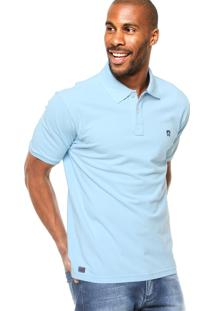 Camisa Polo Manga Curta Mr. Kitsch Basic Azul