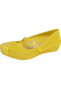 Sapatilha Fiveblu Vazado Amarela
