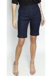 Bermuda Jeans- Azul Escuro- Maria Valentinamaria Valentina