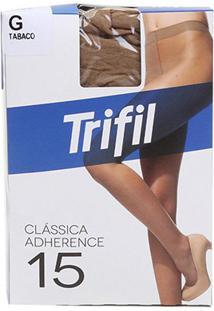 Meia Calça Trifil Adherence Fio 15 Feminina - Feminino-Tabaco