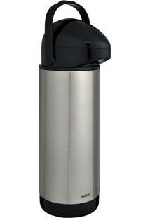 Garrafa Térmica Inox Pressione 1,0L