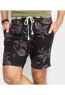 Bermuda Sarja Colcci Estampada Masculina - Masculino