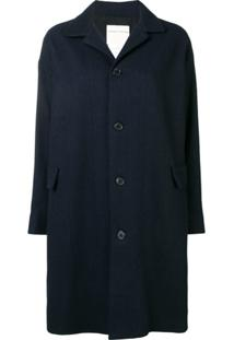 Stephan Schneider Bouffant Single-Breasted Coat - Azul