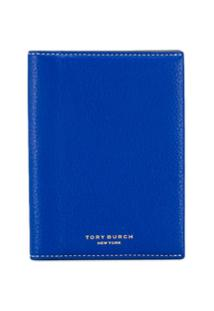 Tory Burch Carteira Color Block - Azul