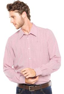Camisa Forum Listras Rosa