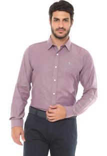 Camisa Sergio K Reta Point Vivo Roxa