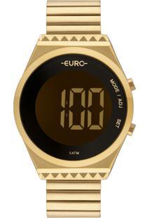 Relógio Euro Feminino Fashion Fit Slim Eubjt016Aa/4D