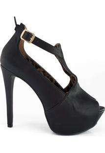 Ankle Feminina Boot Sapato Show - 624215