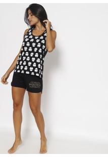 Short Doll Star Wars® - Preto & Brancolupo