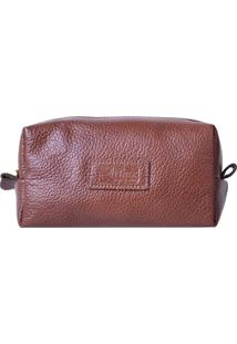 Necessaire Artlux Required - Masculino-Marrom