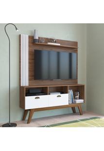 Estante Home Para Tv 50 Pol Estilare Music 2 Portas Branco