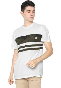 Camiseta Dc Shoes Camo Land Off-White